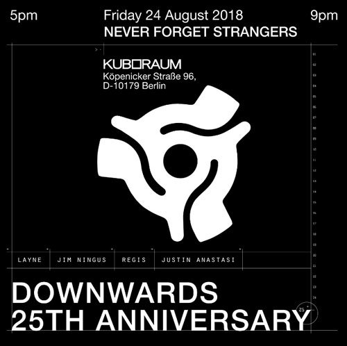 ATONAL OFF – NEVER FORGET STRANGERS <br/>DOWNWARDS 25TH ANNIVERSARY